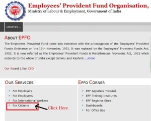 register epf online